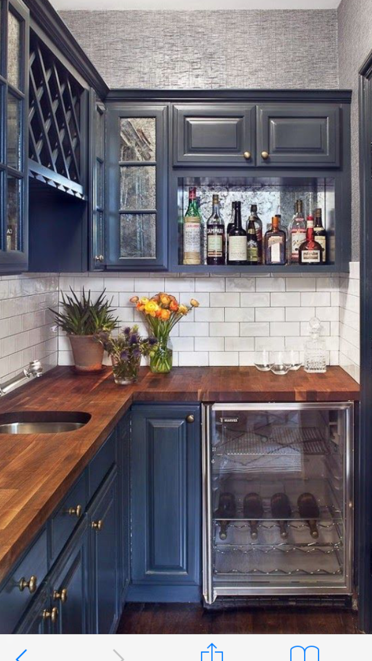 Pin By Emmanuel Washington On Homes And Decorations Navy Kitchen