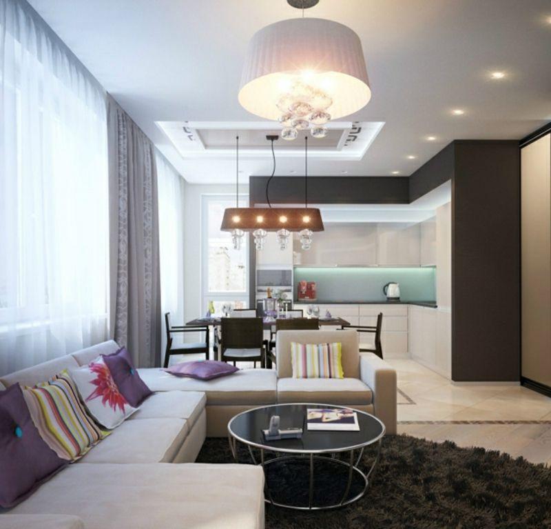 Einrichtungsideen wohnküche  Wohnküche modern und praktisch gestalten – 40 tolle ...