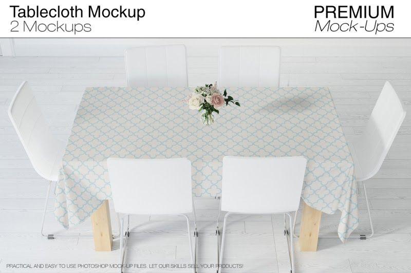 Download Tablecloth Mockup Set Psd Mockup Mockup Psd Mockup Template Mockup Free Psd