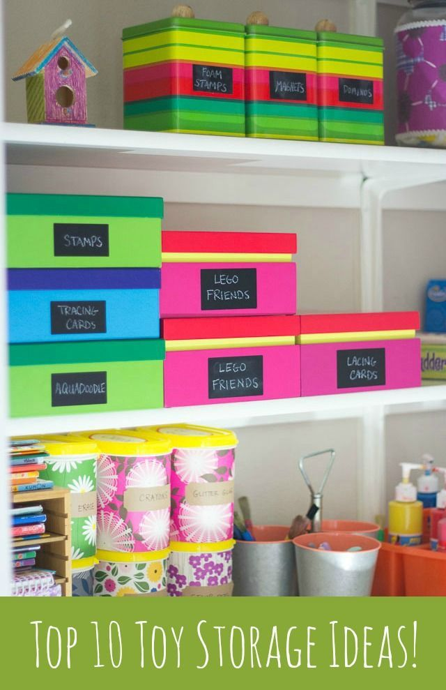 Reign In Your Kidsu0027 Toys With These Simple Storage Ideas!