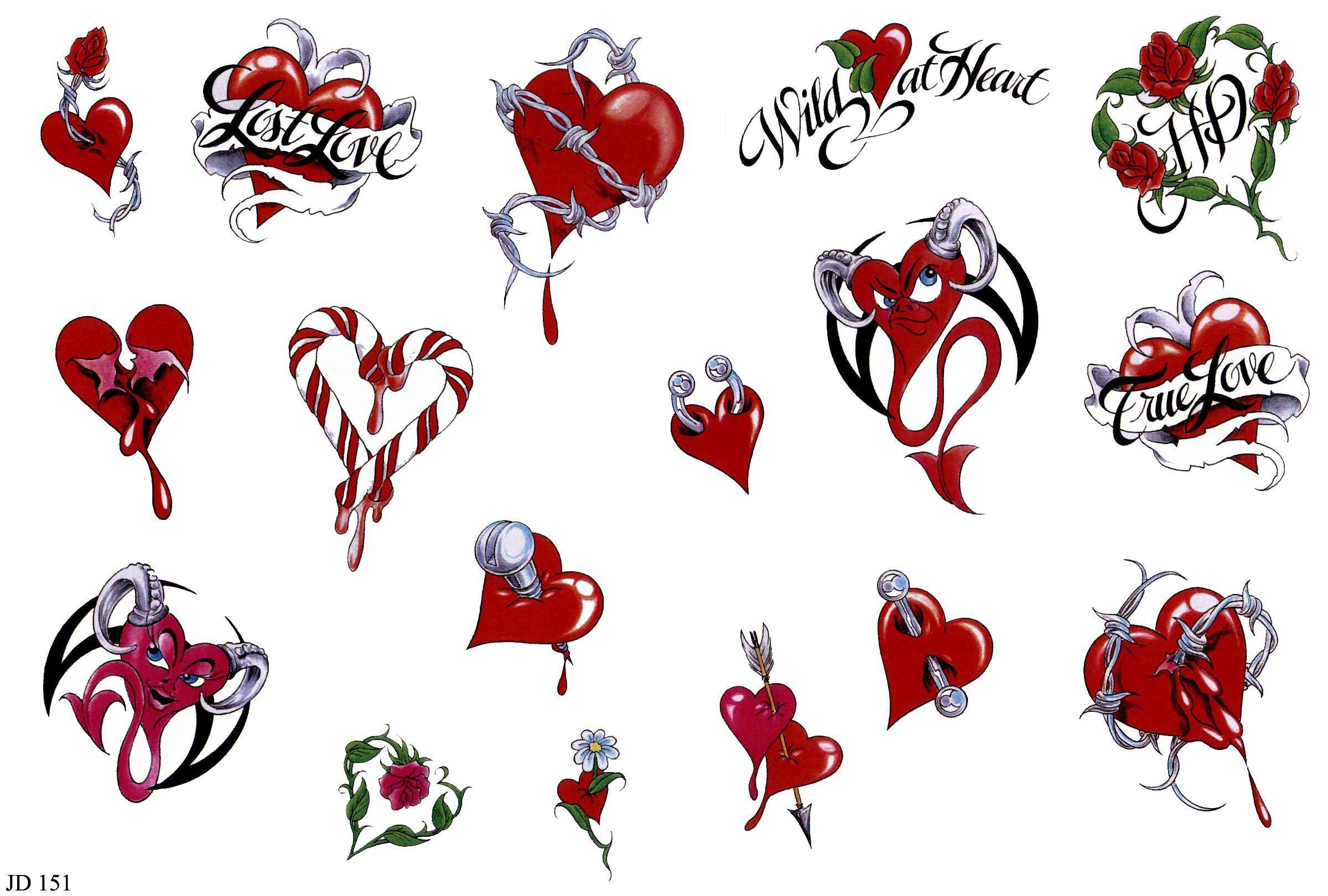 Fuentes De Información Tatuajes De Corazones Diseños Y Significado