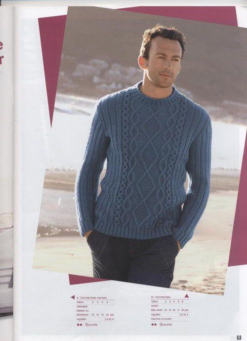 men\'s sweater aran   sacos de lana   Pinterest   Hombre mujer, Sacos ...