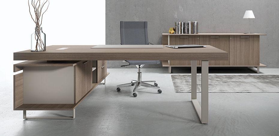 Executive Office Desk Essence By Uffix In 2020 Office Desk Set
