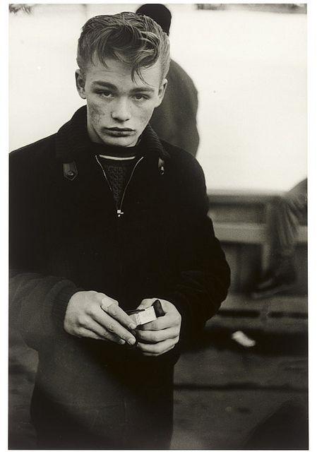 Diane Arbus, Teenage Boy, NYC, 1961
