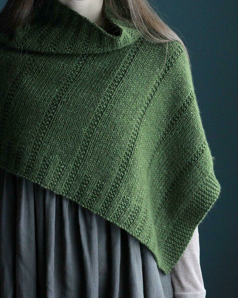 Ponchetta Knitting Pattern By Elizabeth Smith Poncho Knitting