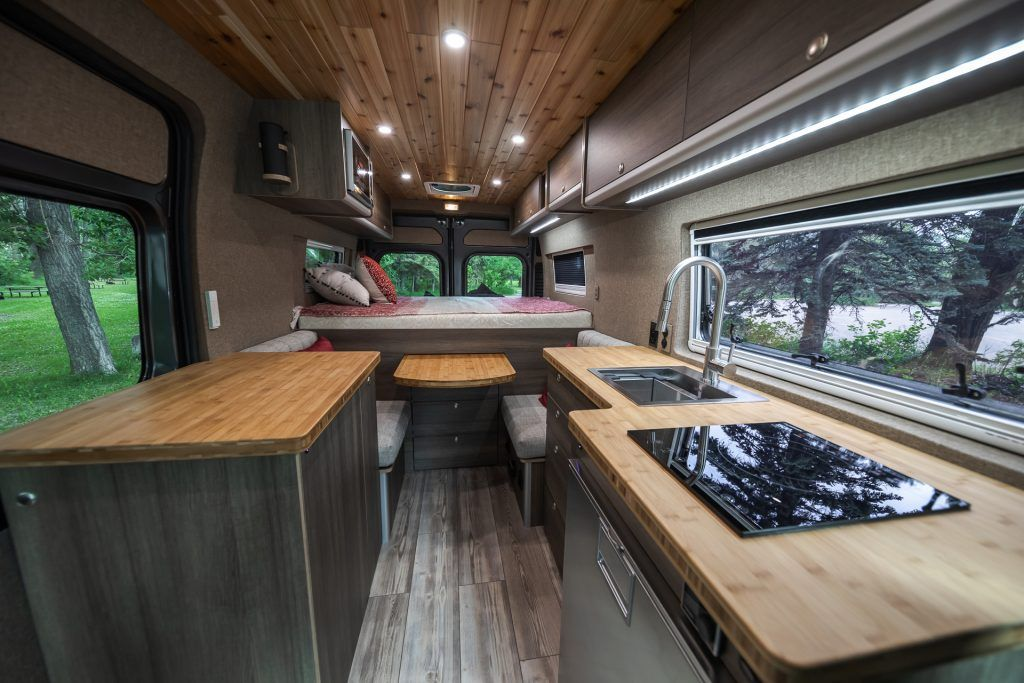 2019 Ram Promaster 3500 High Roof 159 3437 Gladstone Custom Wilderness Vans In 2020 Stainless Sink Ram Promaster Roof