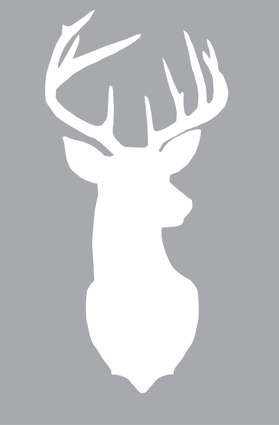 View Download Or Print Deer Silhouette Png Deer Head Silhouette Deer Silhouette Silhouette Cameo Projects