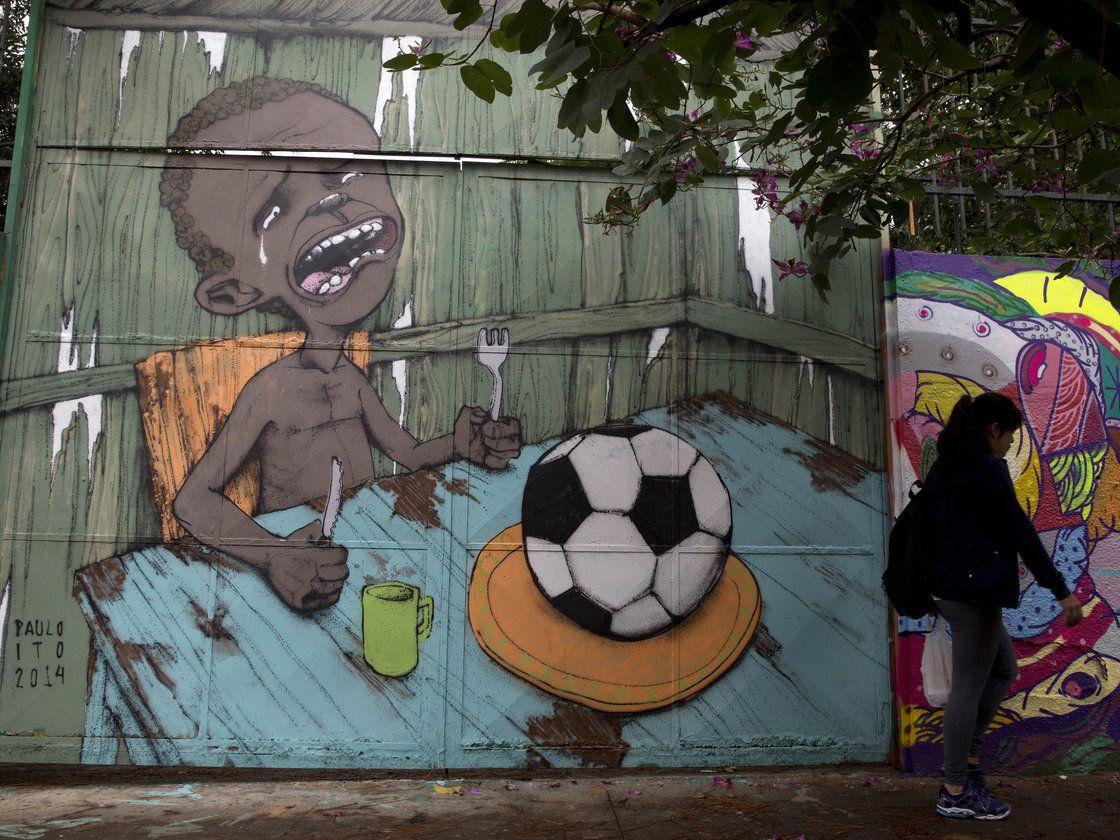Artist: Paulo Ito. Brazilians' voice in street art.