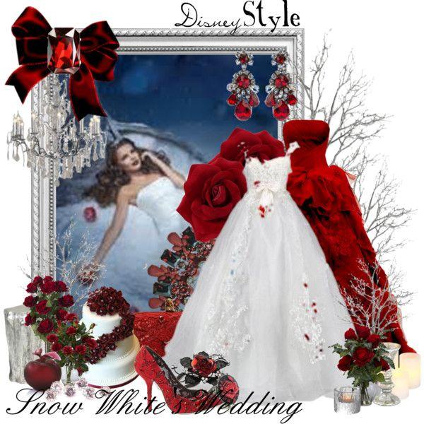 Snow Wedding Ideas: Disney Snow White Wedding Dresses