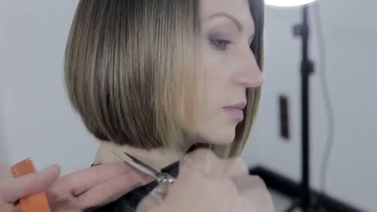 Aprenda a fazer um corte de cabelo curto feminino estilo bob  #cabeleireiros #pelocorto #cabeloscurtos