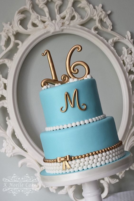 Sweet 16 Cake by K Noelle Cakes Sweet Sixteen Pinterest Sweet