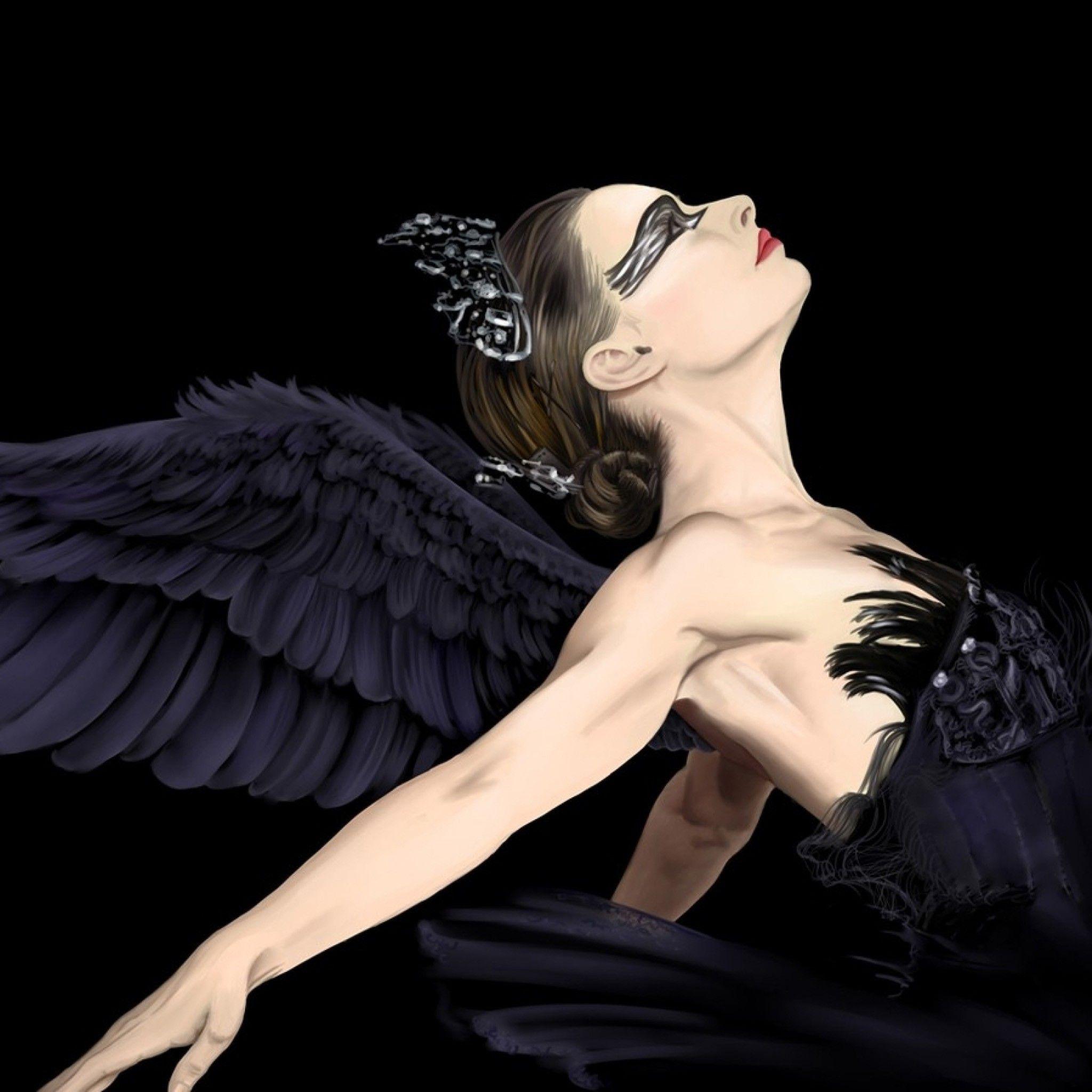 балерина ангел картинки человек разбит, голове