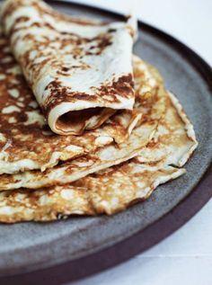 madpandekager - glutenfri og LCHF Toplækre pandekager – helt uden mel!