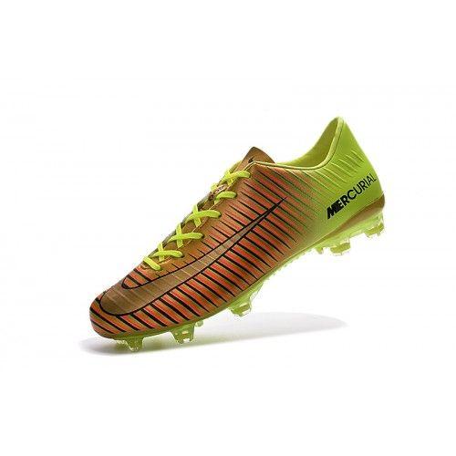 separation shoes 468de d1cbf Nike Mercurial - Nouveau Nike Mercurial Superfly V FG Or Jaune Online  Chaussures De Foot