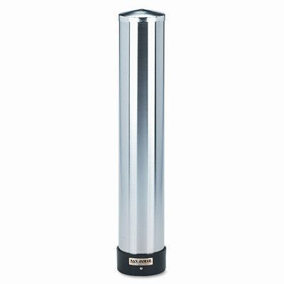 San Jamar Large Water Cup Dispenser With Removable Cap Wall Mounted Stainless Steel Stainless Steel Dispenser Steel Wall Dispenser