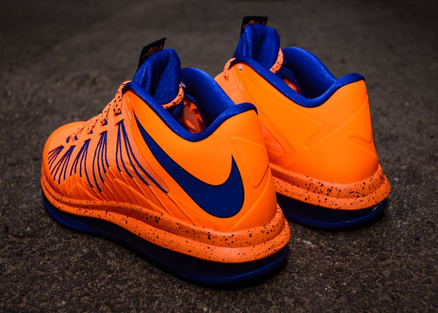 new styles ba255 3e7a9 Nike LeBron X Low – Bright Citrus – Hyper Blue   Arriving at Retailers