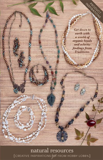 Hobby Lobby Project - Natural Resources - gemstones, jewelry
