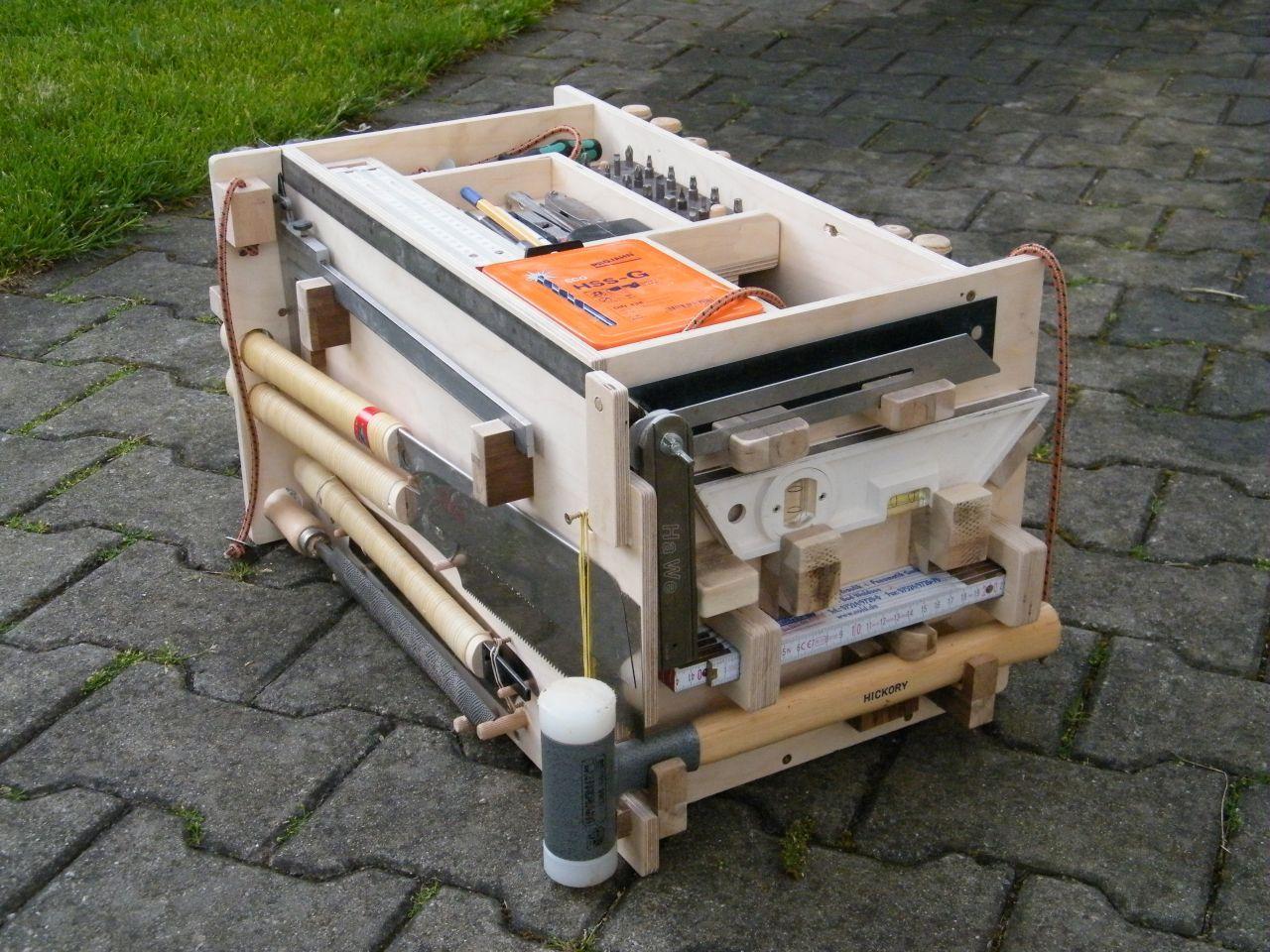Eurobehälter als Werkzeugträger / Alternative zu Systainer ...