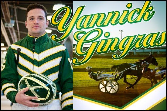 """Yannick Gingras, won his first harness racing driving titles at The Meadowlands Racetrack in 2012 & 2013, """"The Green Hornet"""" also captured his first Meadowlands Pace with A Rocknroll Dance"""