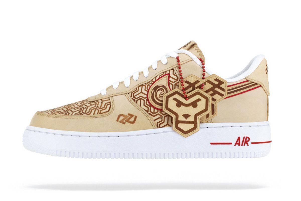 "Zhijun Wang Unveils a Custom Nike Air Force 1 ""Year of the"