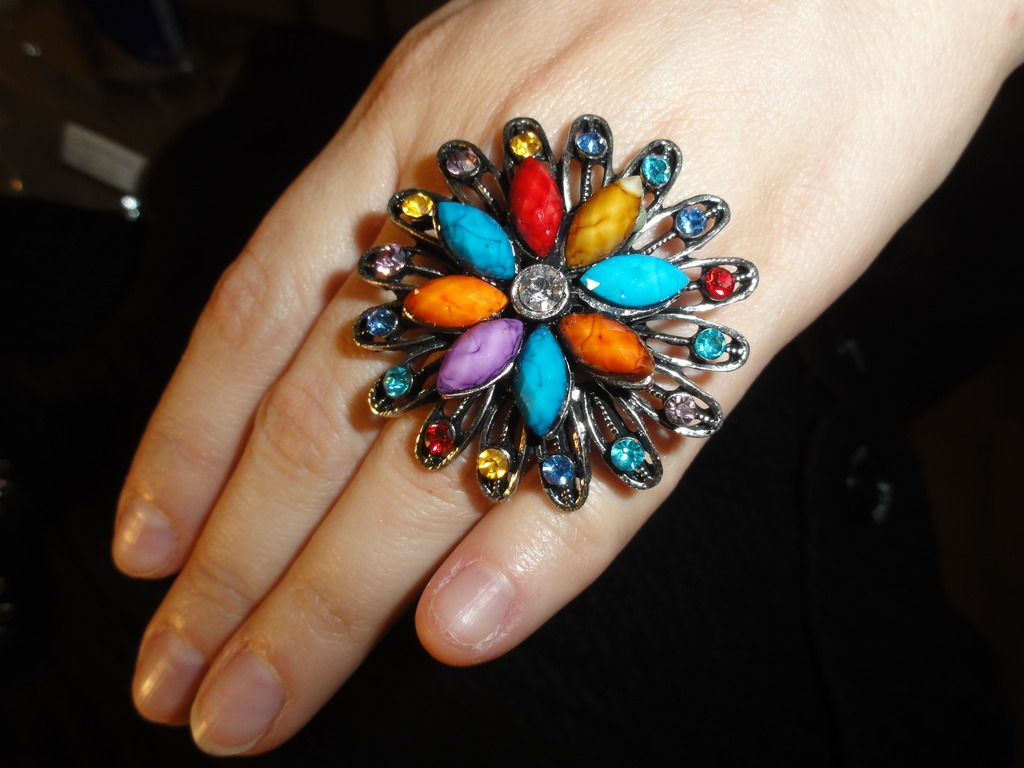 Multi-Colored Ring $5 Qty 5