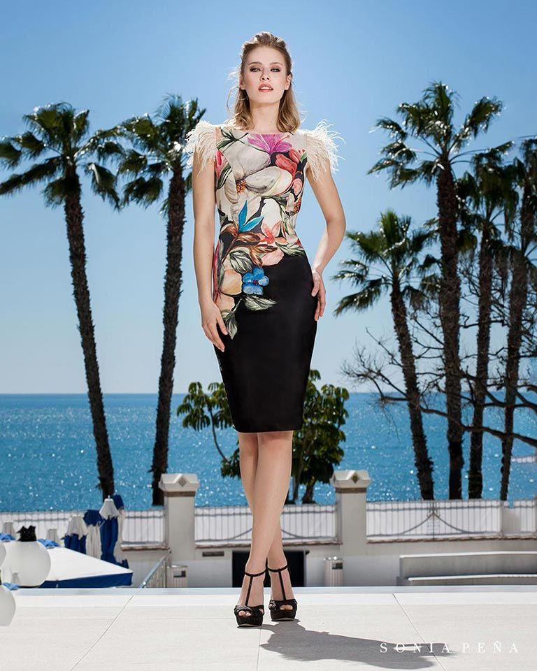 f7ab6a23 Vestidos de fiesta 2019. Colección Primavera Verano 2019 Balcón del Mar.  Sonia Peña - Ref. 1190193 Vestido