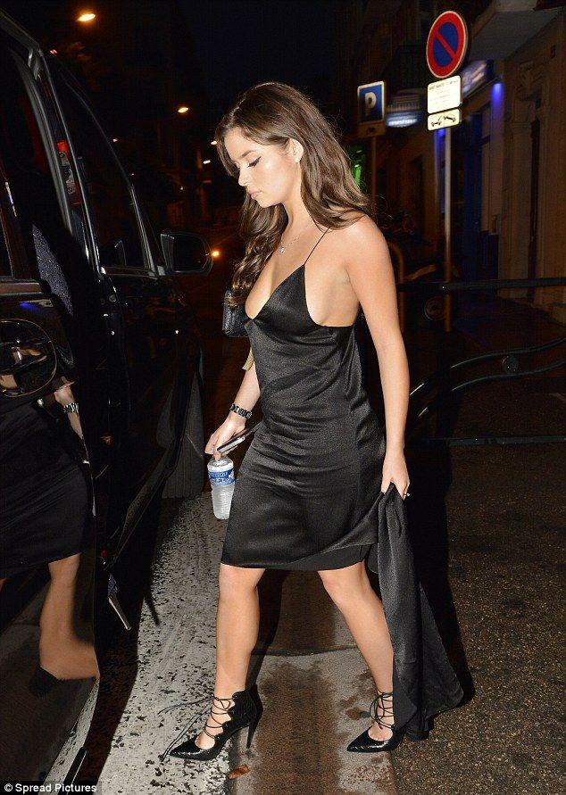 Tygas New Girlfriend Demi Rose Stuns In Skimpy Black