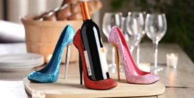 Rhinestone Heel Wine Holder   Kirkland's