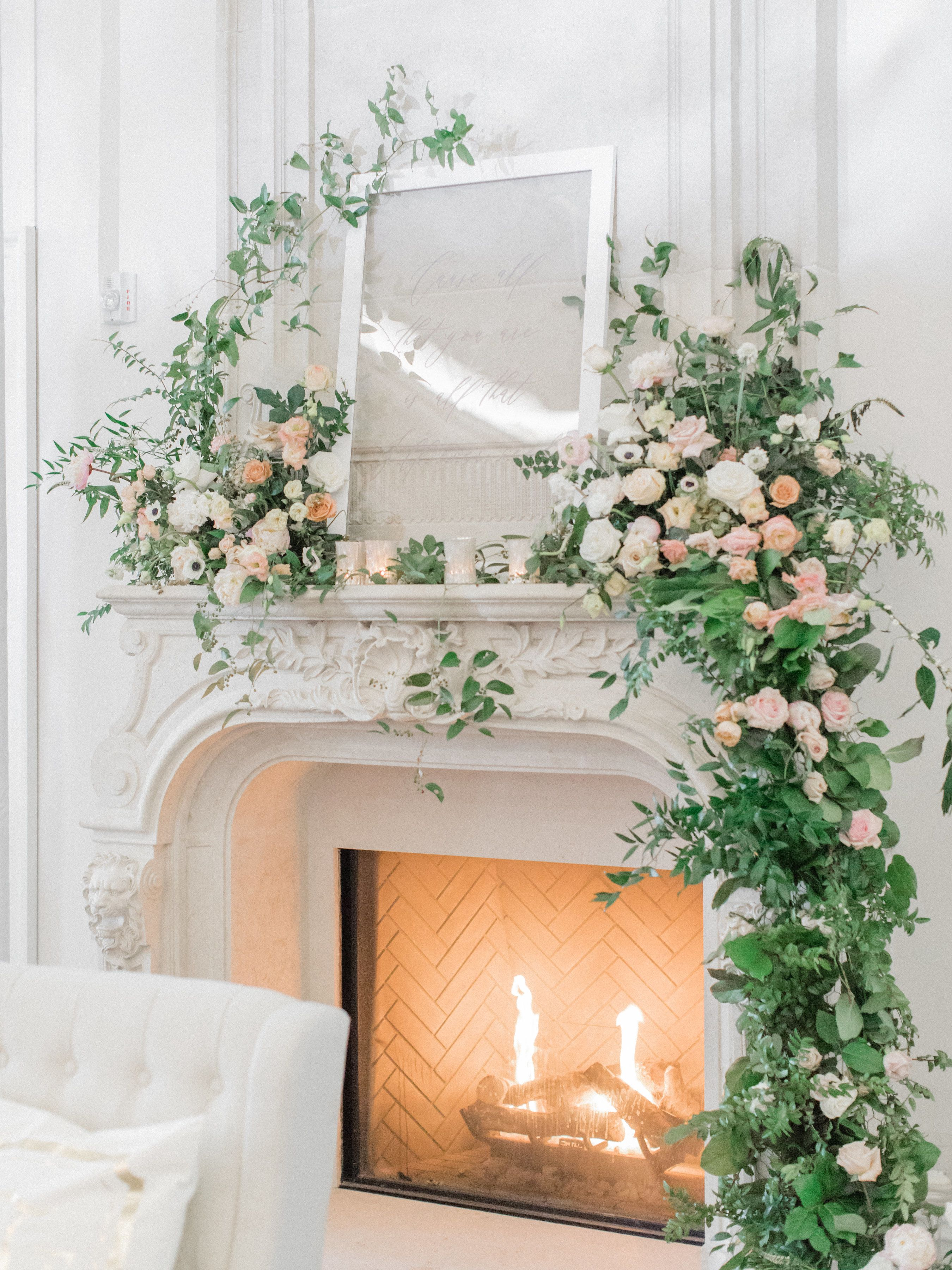 A Romantic Winter Wedding at Park Chateau with Hundreds of Blooms is part of Wedding flowers tulips - A Romantic Winter Wedding at Park Chateau with Hundreds of Blooms