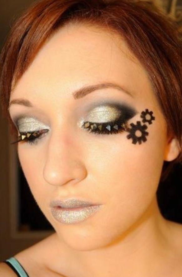 Steam punk makeup