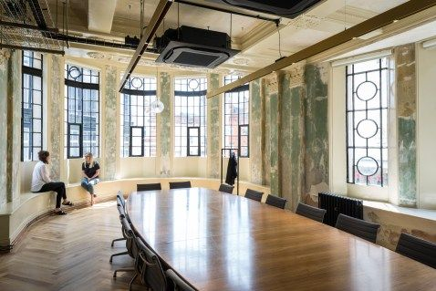 Squire And Partners Transform Old Department Store Into