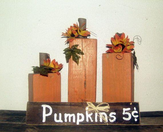 Pumpkin Sign  3 Pumpkins with Pumpkins 5 by LydiasGraphicPallets