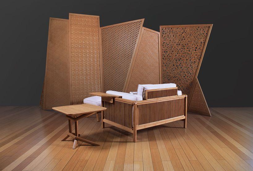 Sedie Bambu ~ Xiao yao by jeff dayu shi merges oriental bamboo chair western