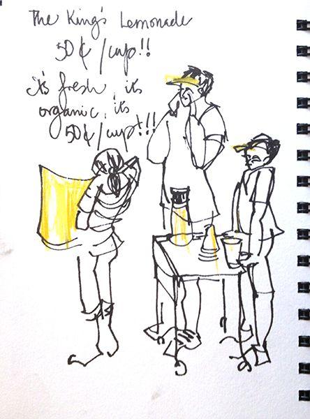 Summer Lemonade Stand ( and the photo versus sketch debate ...