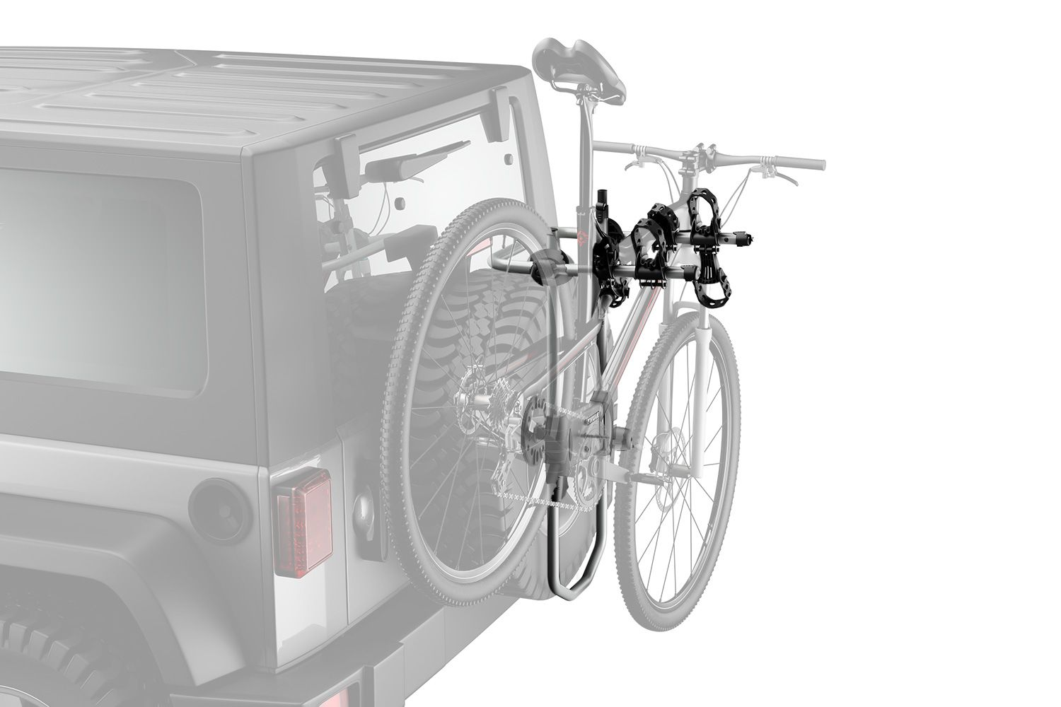 180 Free Shipping Compatible With My Jeep Thule Spare Me Spare Tire Bike Rack Spare Tire Bike Rack Bike Rack Spare Tire
