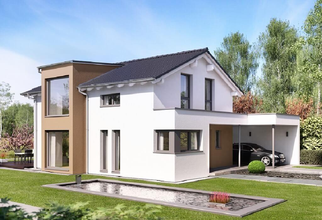 Pin von hausbaudirekt auf hausbaudirekt haus haus stile for Billig bauen fertighaus