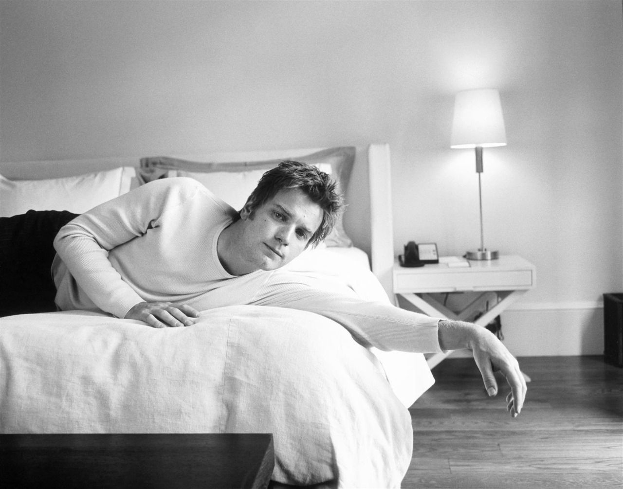 Ewan McGregor photographed by John Huba