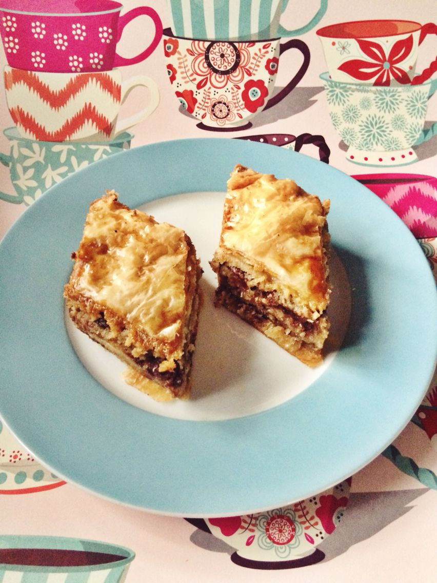 Salted Chocolate Chip Cookie Baklava