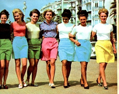 Mini Skirts Of The 60S | Jill Dress