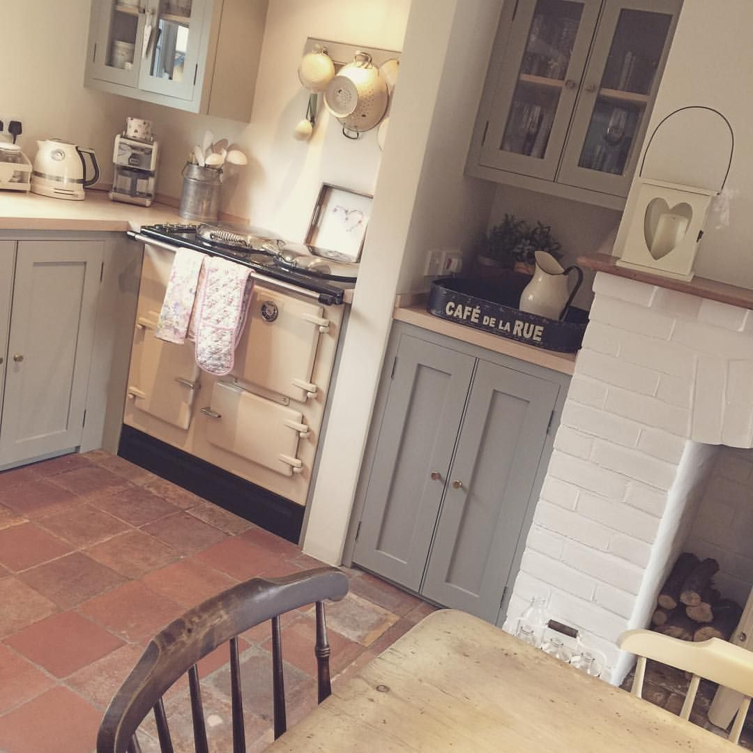 A fantastic morning here in norfolk hope the sun is shining where love the terracotta floors and english oven a fantastic morning here in norfolk hope the sun is shining where you are dailygadgetfo Gallery
