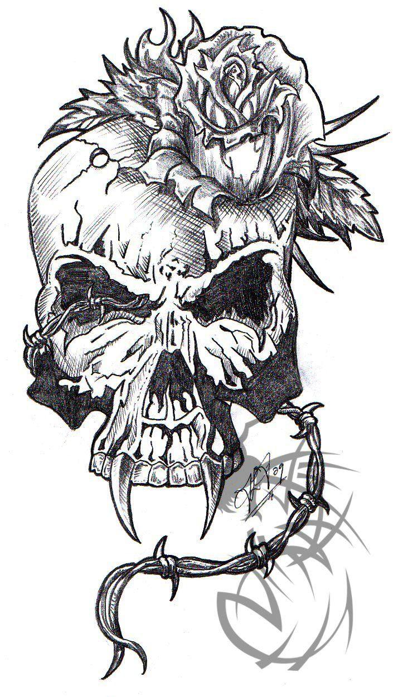 tatuajes de calaveras diseños y significado - Taringa!