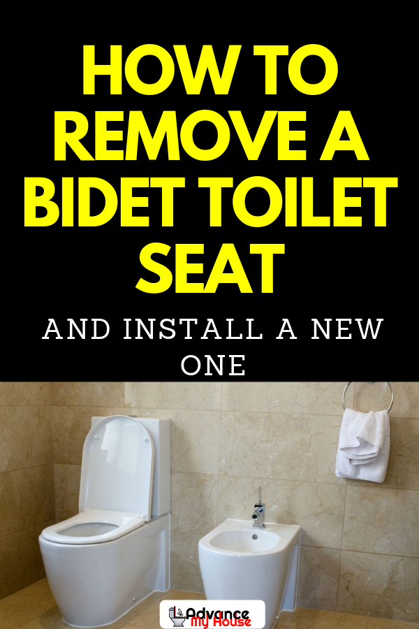 How To Remove A Bidet Toilet Seat And Install A New One Bidet Toilet Bidet Bidet Toilet Seat