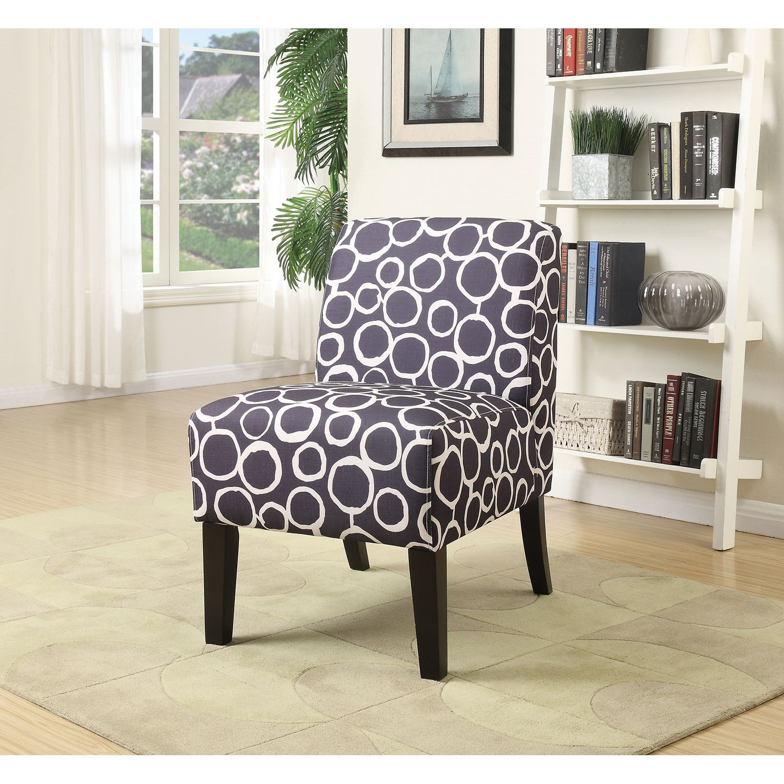 Ollano Accent Chair Pattern Fabric Pattern Fabric 23 Quot L