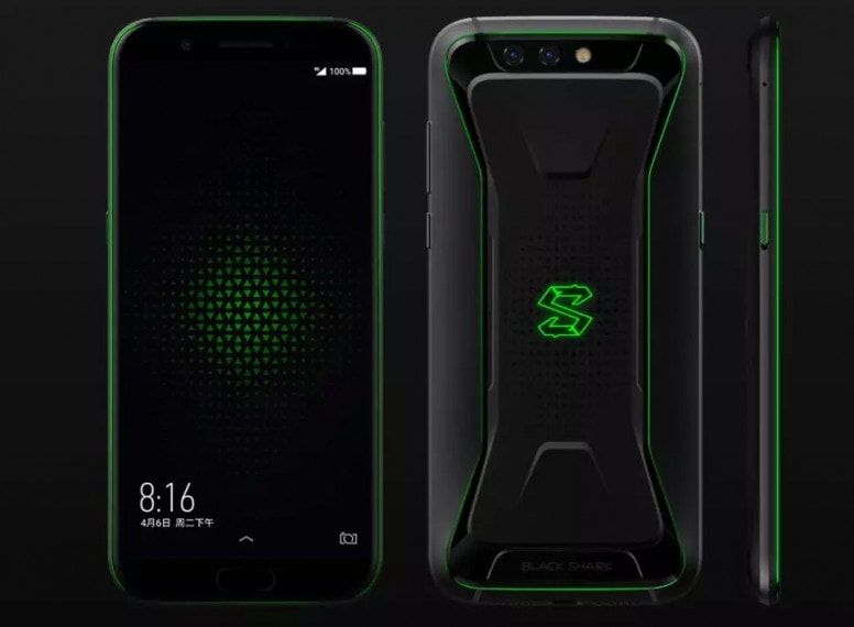 The Black Shark Is A Xiaomi Backed Gaming Phone Liquid Cooling And