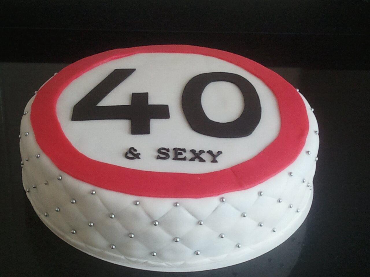 taart 40 jaar 40 jaar geworden taart   Taarten van Esther   Pinterest taart 40 jaar