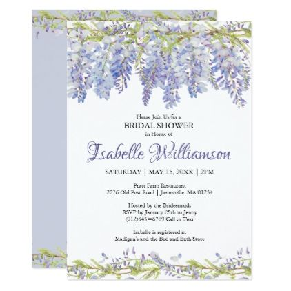 Purple watercolor floral bridal shower invitations bridal showers purple watercolor floral bridal shower invitations bridal showers shower invitations and romantic weddings filmwisefo Choice Image