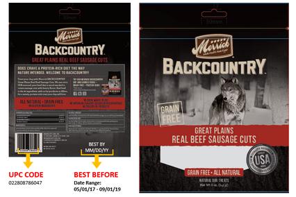Merrick Pet Care Recalls Merrick Backcountry And Castor Pollux Good Buddy Treats Pet Care Good Buddy Food Recalls