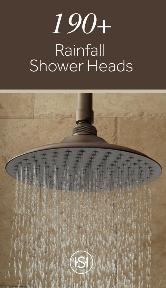 Switch Out Your Dated Shower Head With One That Is Stylish And