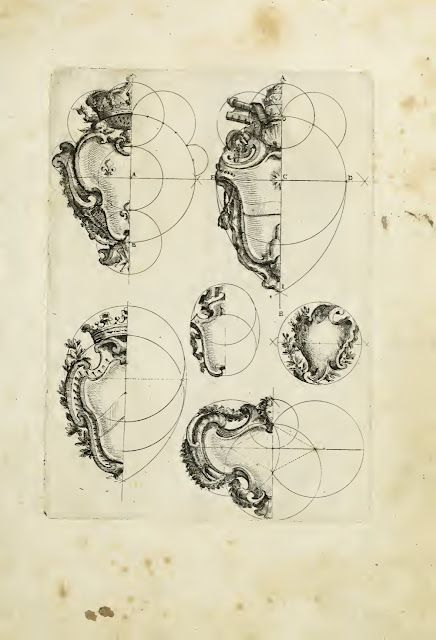 Plate from book of engravings by architect Filippo Juvarra.  I love architectural details!