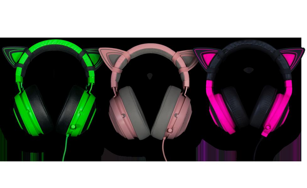 Kitty Ears For Razer Kraken Cute Headphones Razer Gaming Headset